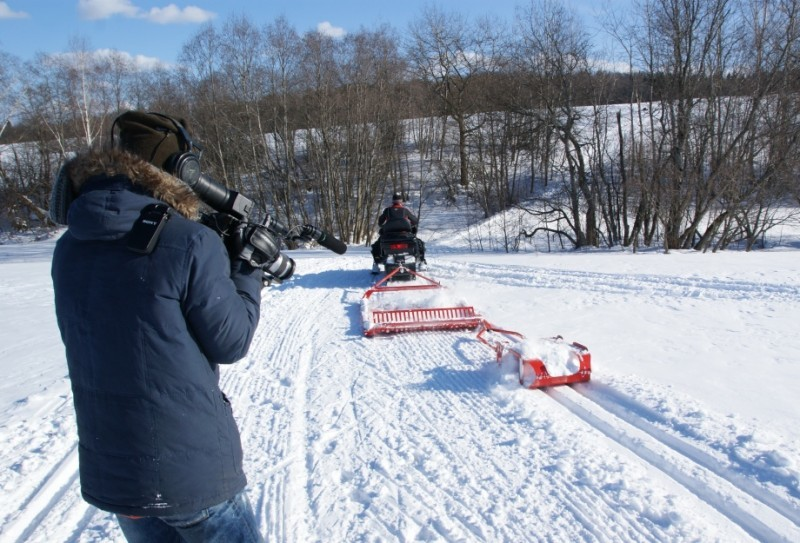 Прокладчик лыжни,резак для лыжни, прокладка лыжни. борона прокладки для лыжни конькового хода